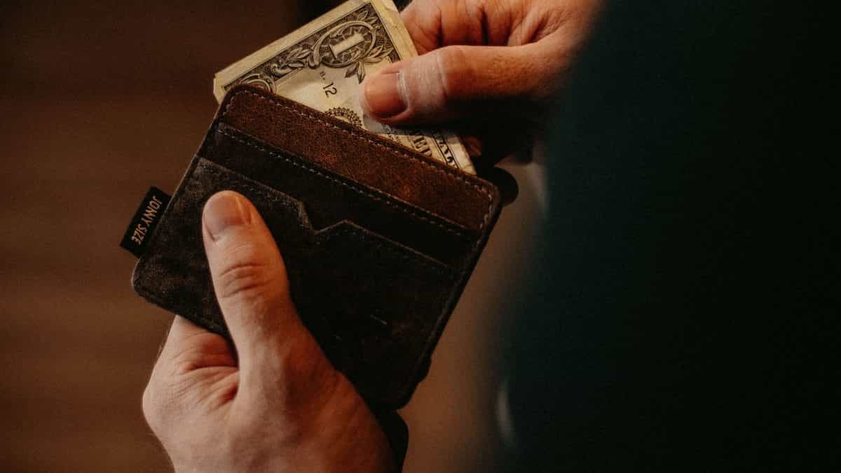 Geklaute Brieftasche